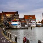 De haven van Volendam.