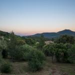 Uitzicht over de vallei van Plan-de-la-Tour.