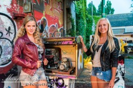 Amber en Isa - Fotoshoot Doel (België)