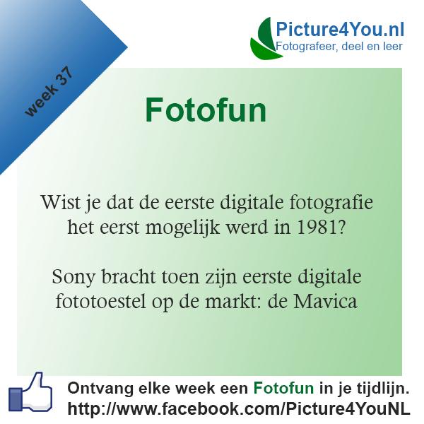 Fotografie weetjes Fotofun week 37