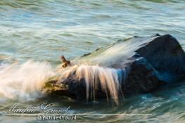 Wat is bewegingsonscherpte - Rots in het water