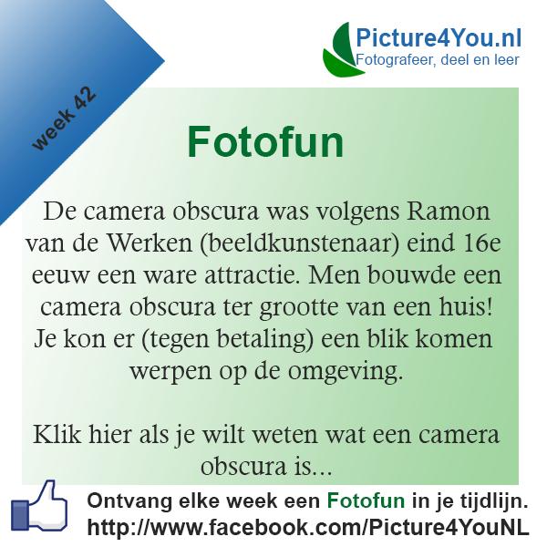 Fotografie weetjes Fotofun week 42